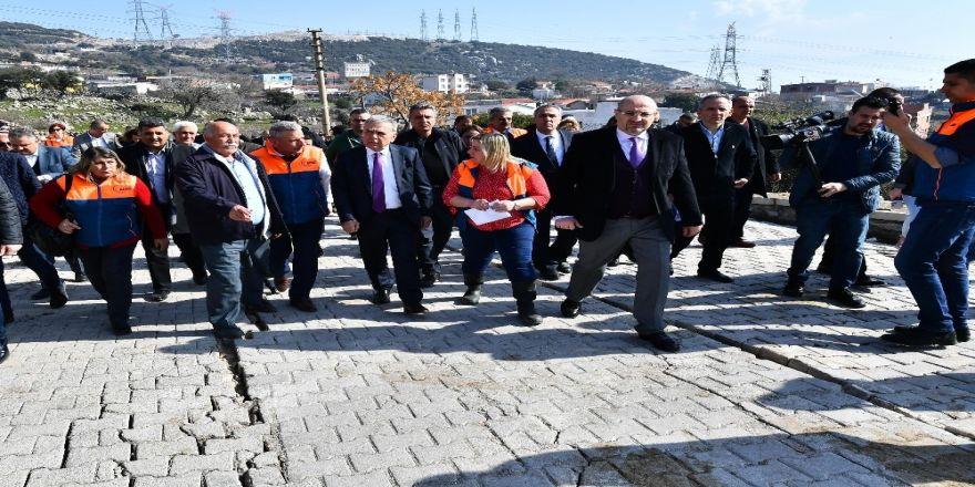 Başkan Kocaoğlu, Eğridere'de yüreklere su serpti