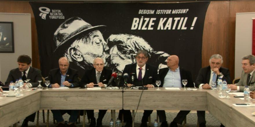'Büyük Beşiktaş Yürüyüşü'nden yönetime manifesto