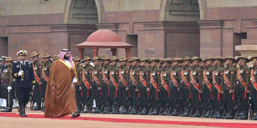 Suudi Veliaht Prens Muhammed bin Selman Hindistan'da
