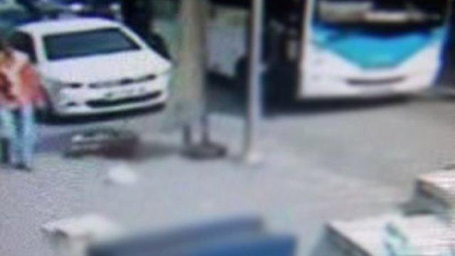 İndiği Otobüsün Altında Kalan Yolcu Öldü