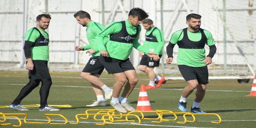 Konyaspor, Kayserispor maçı hazırlıklarına devam etti