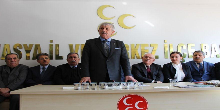 """MHP adayı Sarı: """"Amasya'ya yeni bir ufuk açacağız"""""""