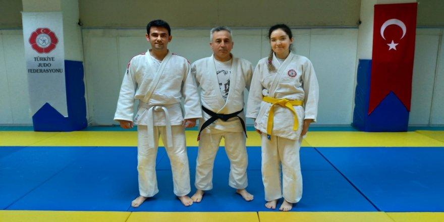 Görme engelli judocular milli takım için mücadele edecek