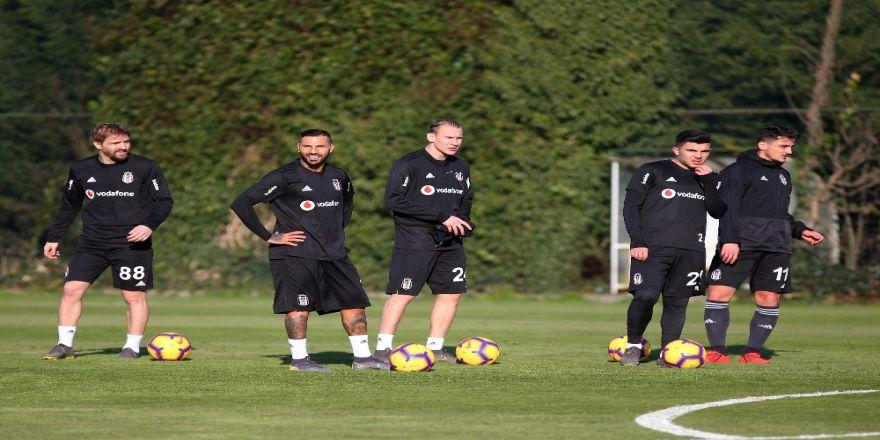 Beşiktaş'ta taktik çalıştı