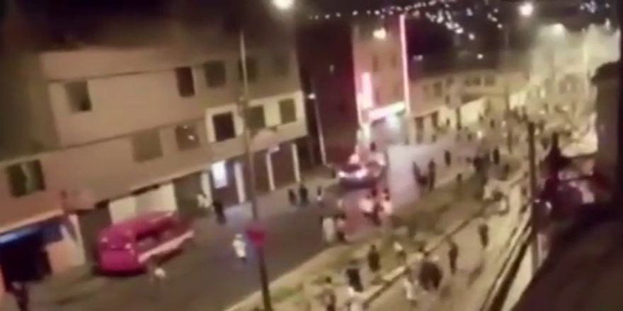 Peru'da taraftarlar birbirine girdi: 2 ölü, 9 yaralı
