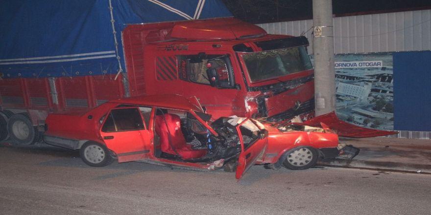 Feci kaza: 1'i ağır 2 yaralı