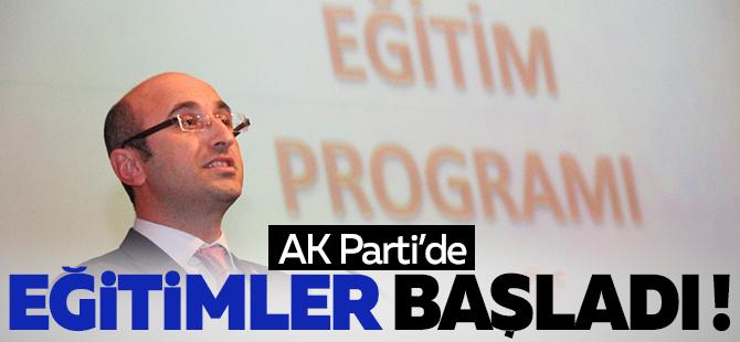 AK Parti'de eğitimler başladı