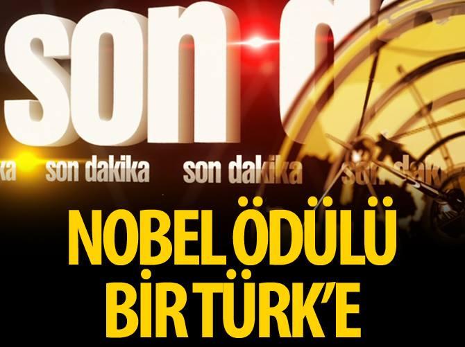 Nobel ödülü bir Türk'e