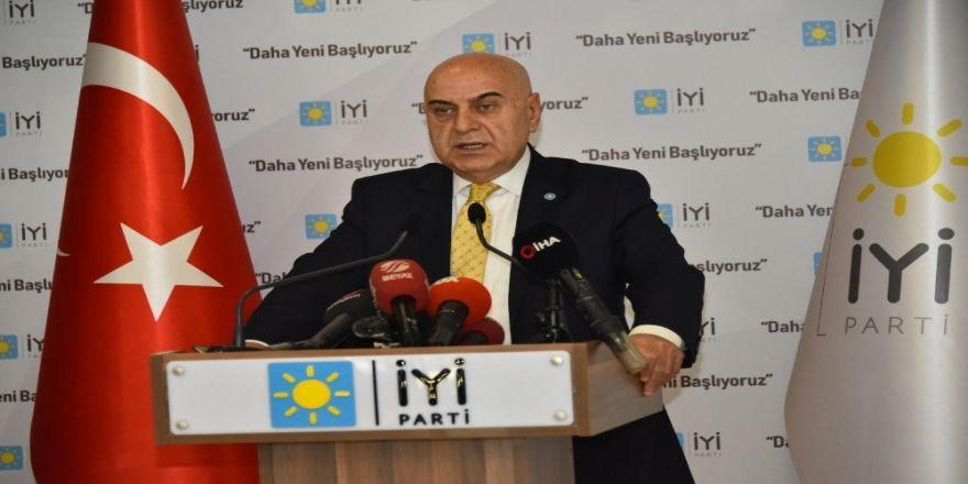 """İYİ Parti Genel Sekreteri Paçacı: """"Burhanettin Kocamaz'ın tek derdi Mersin'e hizmet etmek"""""""