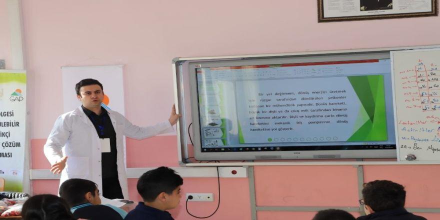 STEM yenilenebilir enerji ve proje yazma eğitimi
