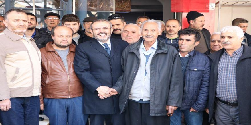 """AK Parti'li Ünal: """"Tanzim satışlarına büyük ilgi var"""""""