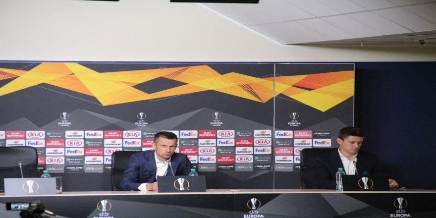 """Sergey Semak: """"Oyuncularım çok iyi oynadılar"""""""
