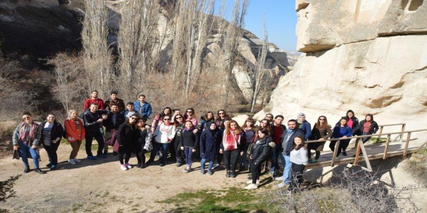 Turizm Fakültesi öğrencilerinden vadi gezisi