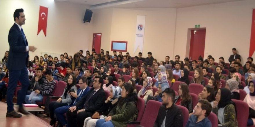 GAÜN Oğuzeli MYO'da kişisel koruyucu ve donanım semineri