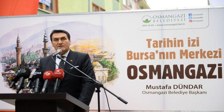 Tarihî mirasa Osmangazi imzası