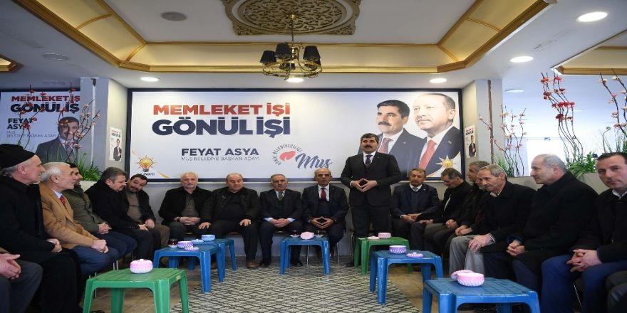 """Başkan Asya: """"Cumhur ittifakıyla gönül belediyeciliğini inşa edeceğiz"""""""