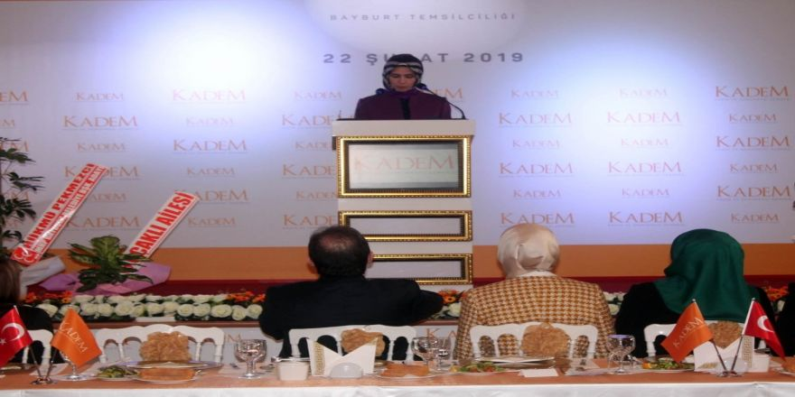 KADEM'in 46. temsilciliği Bayburt'ta açıldı