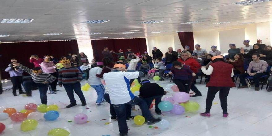Burhaniye'de özel eğitimde 100. gün etkinliği