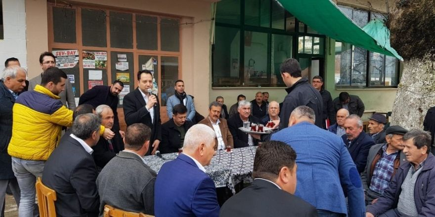 AK Parti'li Dağ, Başkan adayı İçelli'ye Tire'de oy istedi