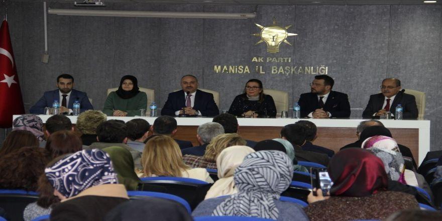 Bakan Pekcan'dan AK Parti'ye ziyaret