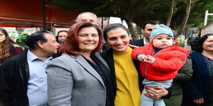 Özlem Çerçioğlu, Dereağzı Mahallesini Ziyaret Etti