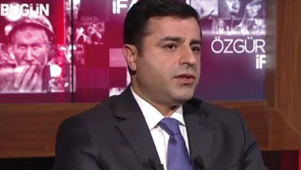 Selahattin Demirtaş: Şiddet isteyen bize oy vermesin