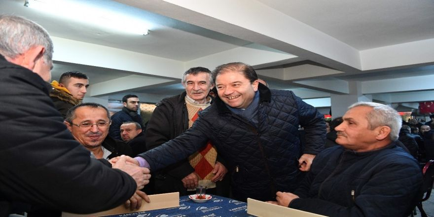 Maltepe Belediye Başkanı Ali Kılıç Bolulularla Buluştu