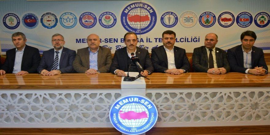 Bursa Memur-sen'den İslam İşbirliği Teşkilatı'na Çağrı