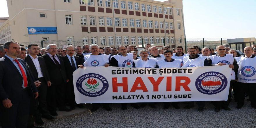 Malatya'da Okul Müdürüne Darp İddiası
