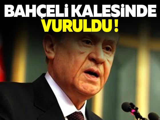BEHÇELİ'YE KENDİ MEMLEKETİNDE ŞOK !