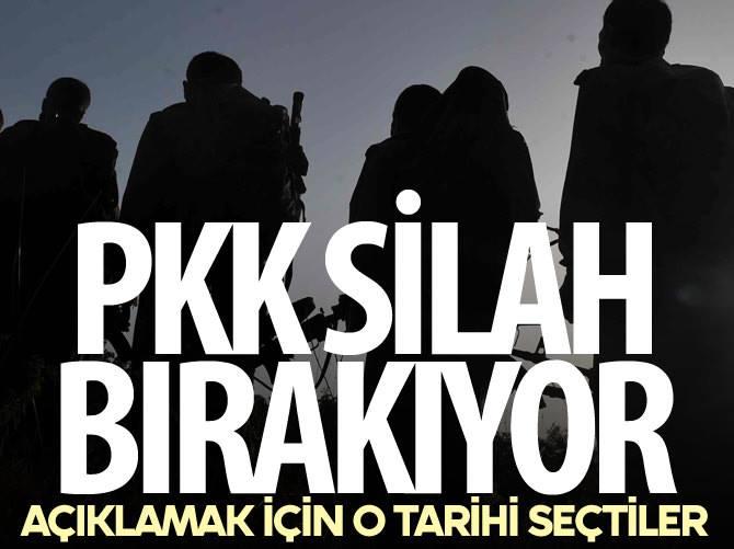 SON DAKİKA! PKK SİLAH BIRAKIYOR !