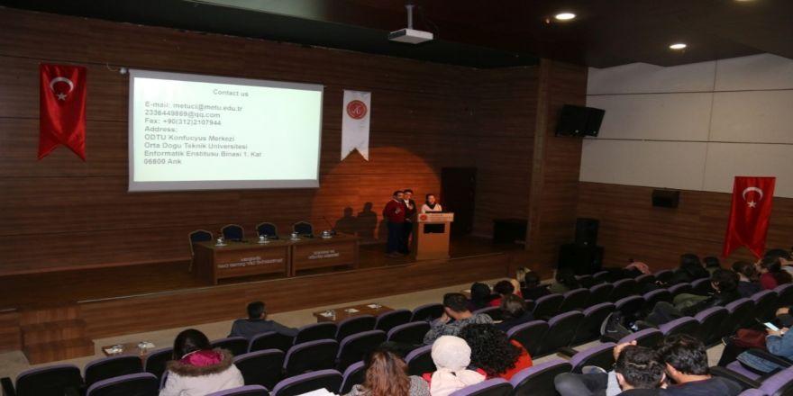 Nevü'de Çin Hükümeti Ve Konfüçyüs Enstitüsü Tanıtım Toplantısı Düzenlendi