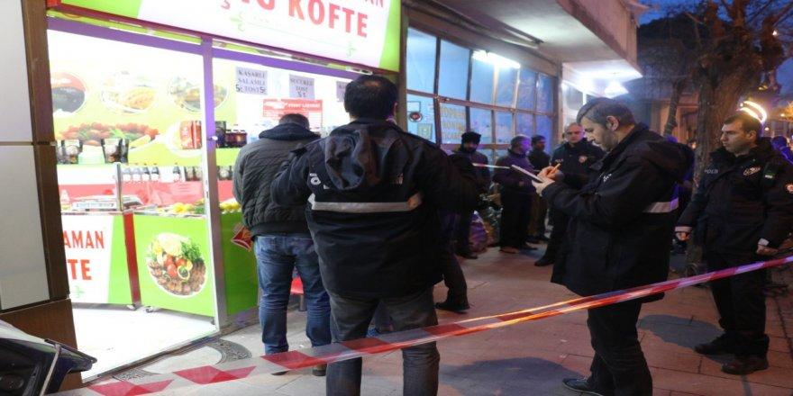 Ortaklar arasında silahlı kavga: 1 yaralı