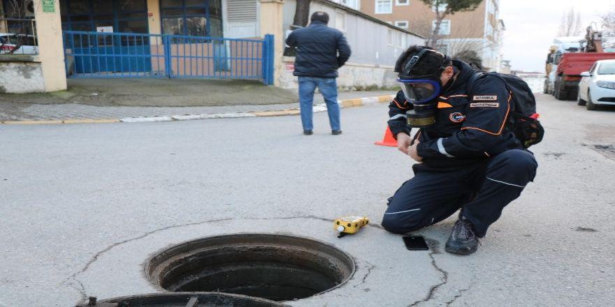 Tuzla'da Kimyasal Koku Paniğinin Yaşandığı Yerde Afad Ekipleri Araştırmalara Katıldı
