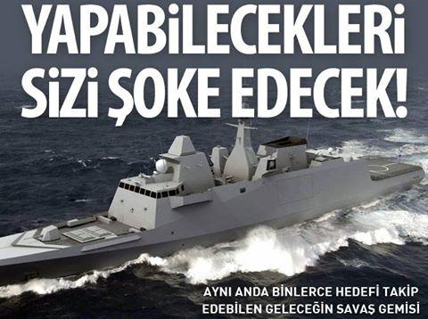 Geleceğin savaş gemisi! Yapabilecekleri sizi şoke edecek!