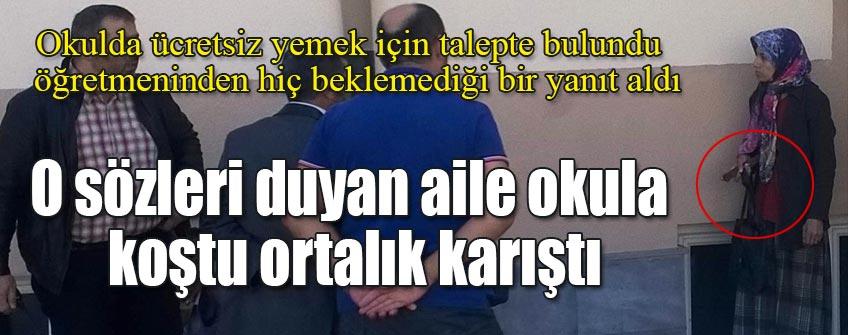 'YEMEĞİ HAKETTİN Mİ' SÖZÜ İNTİHARA SÜRÜKLÜYORDU !