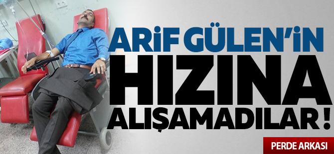 Arif Gülen'in hızına alışamadılar!