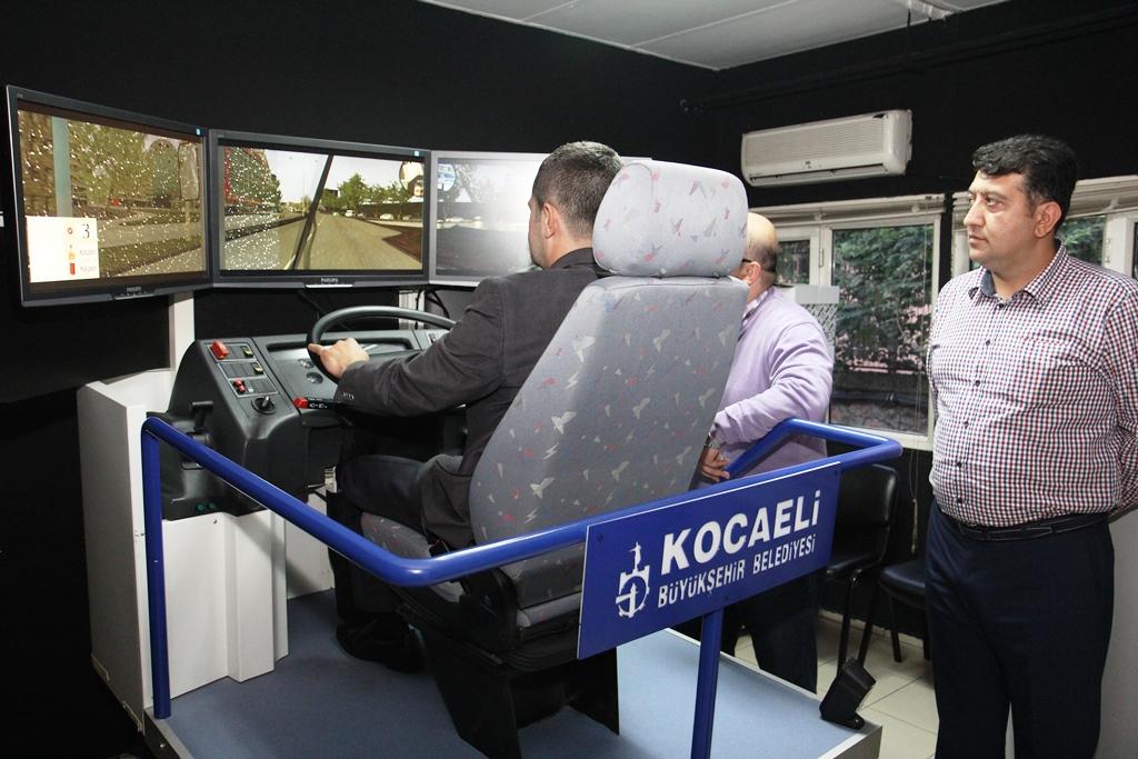 Şoförler eğitime alındı!