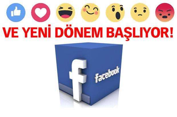 FACEBOOK'TA YEPYENİ BİR DÖNEM !