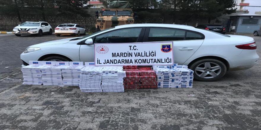 Mardin'de 4 Bin 750 Paket Kaçak Sigara Ele Geçirildi