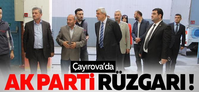 Çayırova'da AK Parti rüzgârı!