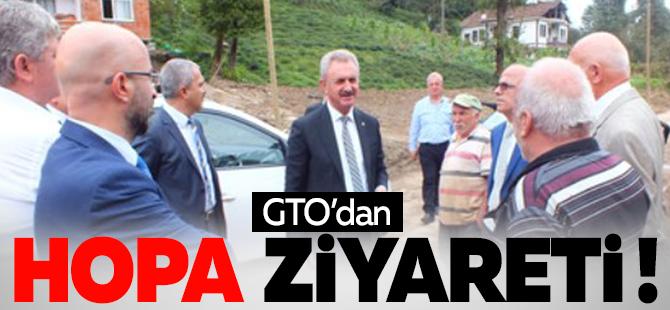 GTO'dan Hopa ziyareti