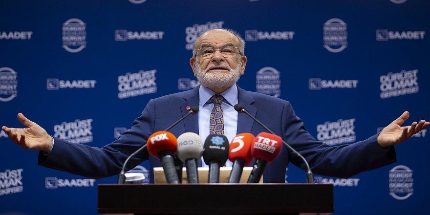 Saadet Partisi Genel Başkanı Karamollaoğlu: Saadet Partisi herkesten oy istiyor