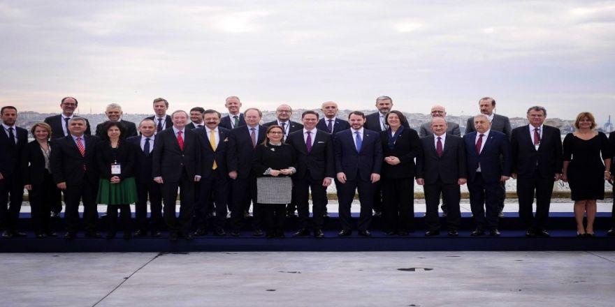 Berat Albayrak Ve Jyrki Katainen'in Ortak Basın Toplantısı