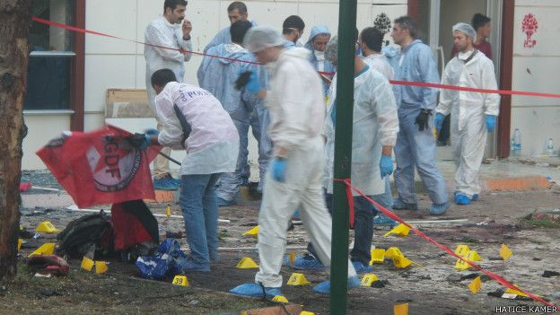 Ankara'da Kanlı Terör Saldırısında Ölü Sayısı 95'e Yükseldi