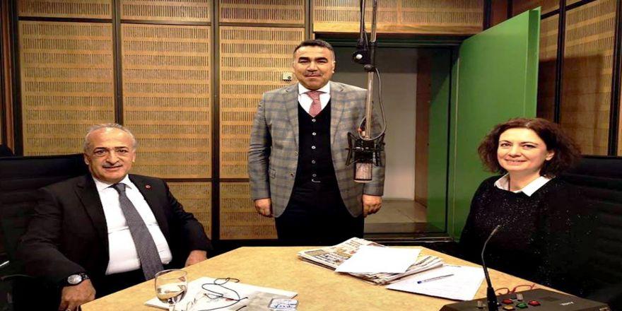 Rektör Çomaklı, Trt Türkiye'nin Sesi Radyosunun Konuğu Oldu