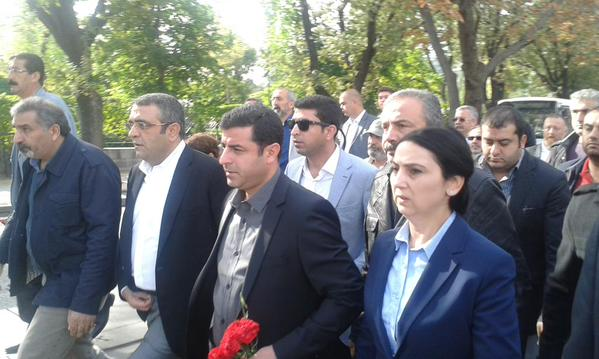 Ankara'da Patlamanın Olduğu Yerde Gerginlik