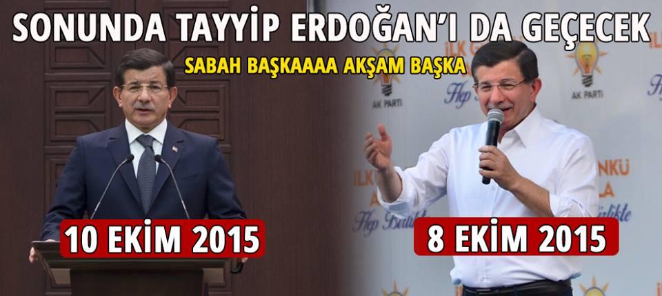 Sonunda Tayyip Erdoğan'ı da geçecek... SABAH BAŞKAAA AKŞAM BAŞKA