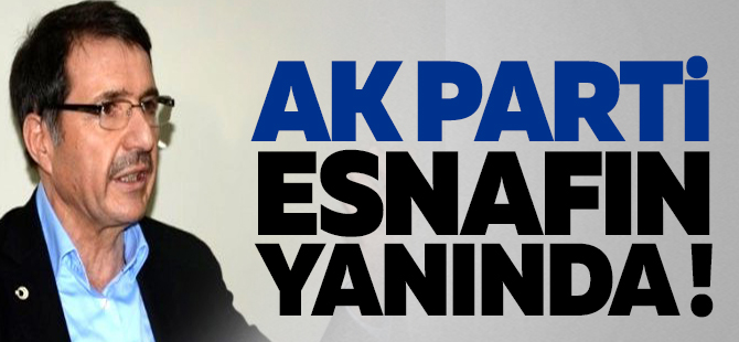 AK Parti esnafın yanında