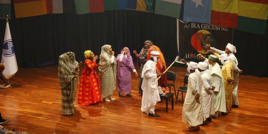 Afrikalı Öğrenciler, Kültürlerini Saü'de Tanıttı